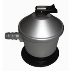 El regulador de gas es una pieza muy importante en la puesta a punto del kit paellero. Los reguladores pueden ser de 30 milibares para paelleros de pequeños diámetros, así como de 50 milibares o salida libre para los paelleros de mayor diámetro.