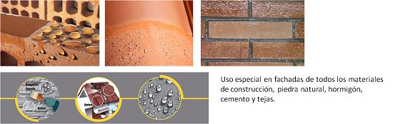 quilosa aqua protect facha tejado