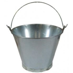 Cubo galvanizado conico 10 litros