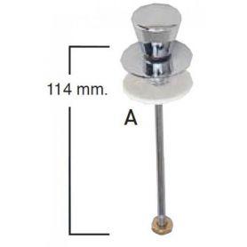 Tirador vertical cisterna baja cromado tipo 5 TV5A Fominaya