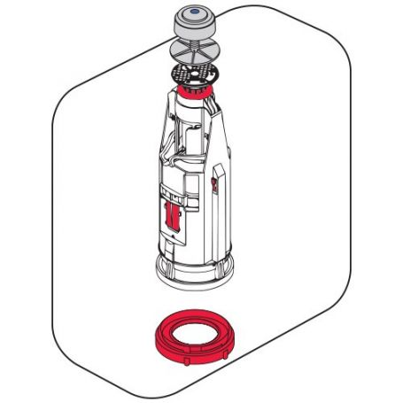 Campana universal cisterna baja modelo Eco Cyclon 4 Fominaya