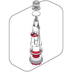Campana universal cisterna baja Tyfon 5 base + juntas Fominaya