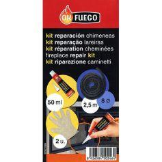 Kit de reparacion chimenea y estufa diametro 8 OKFuego