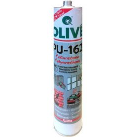 Masilla poliuretano PU-162 blanco cartucho 300ml Olivé
