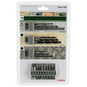 Set de 19 brocas y puntas Uneo Bosch