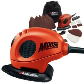 Lijadora Mouse Black and Decker