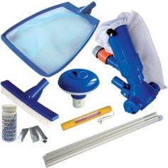 Kit de mantenimiento para piscinas Splasher (7 piezas) kokido