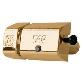 Cerrojo UVE Magnet Fac dorado 446-RP/80 bombillo 70mm