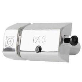 Cerrojo UVE Magnet Fac cromo satinado 446-RP/80 bombillo 70mm