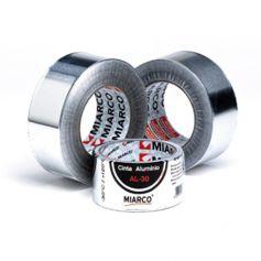 Cinta Adhesiva de Aluminio Miarco 10m
