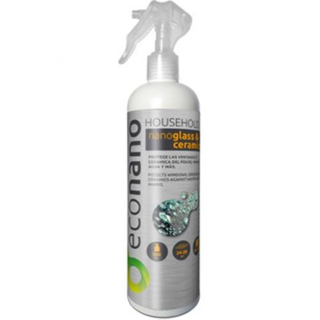 Recubrimiento protector nano-cristal y ceramica spray 500ml Econano
