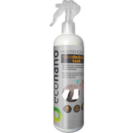 Protector madera de hogar nano-madera y tarima spray 500ml Econano