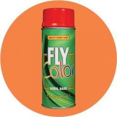 Pintura Fly ral en spray 2003 brillo naranja pastel 200ml Motip