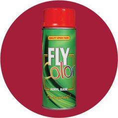 Pintura Fly en spray brillo ral 3003 rojo rubí 200ml Motip