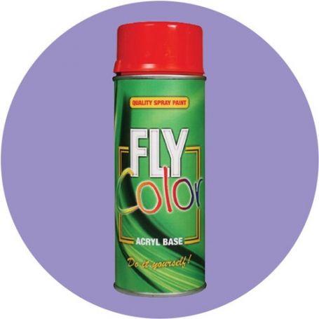 Pintura Fly en spray brillo ral 4005 lila azulado 200ml Motip