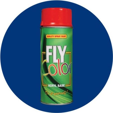 Pintura Fly en spray brillo ral 5002 azul ultramarino 200ml Motip