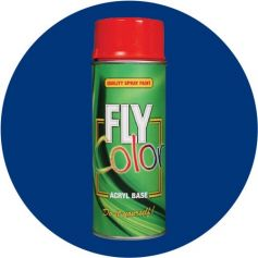 Pintura Fly en spray brillo ral 5002 azul ultramarino 200ml Motip