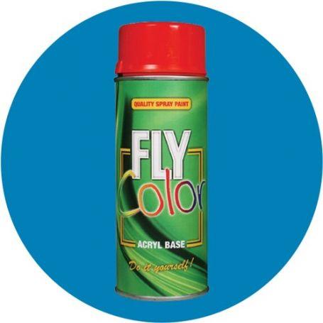 Pintura Fly en spray brillo ral 5012 azul lucido 200ml Motip