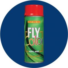 Pintura Fly en spray brillo ral 5017 azul tráfico 200ml Motip