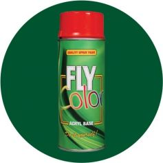 Pintura Fly en spray brillo ral 6005 verde musgo 200ml Motip