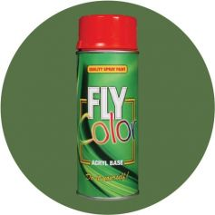 Pintura Fly en spray brillo ral 6011 verde reseda 200ml Motip