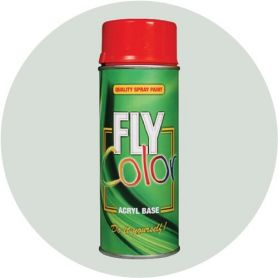Pintura Fly en spray brillo ral 7035 gris lucido 200ml Motip