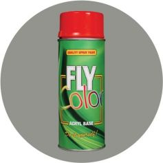 Pintura Fly en spray brillo ral 7037 gris polvo 200ml Motip