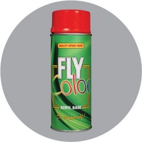 Pintura Fly en spray brillo ral 7040 gris ventana 200ml Motip