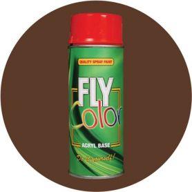 Pintura Fly en spray brillo ral 8011 marrón nogal 200ml Motip