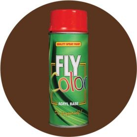 Pintura Fly en spray brillo ral 8007 marrón corzo 200ml Motip