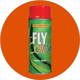 Pintura Fly en spray brillo ral 2009 naranja tráfico 200ml Motip