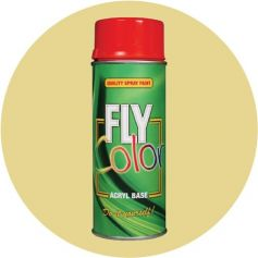 Pintura Fly en spray brillo ral 1015 marfil claro 200ml Motip