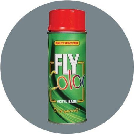 Pintura Fly en spray brillo ral 7000 gris 200ml Motip