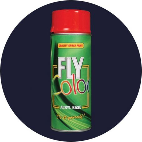 Pintura Fly en spray brillo ral 5003 azul zafiro 200ml Motip