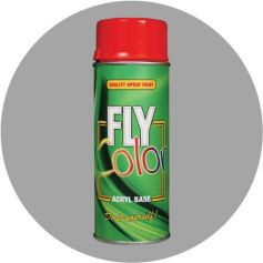 Pintura Fly en spray ral 9006 plata satinado 200ml Motip