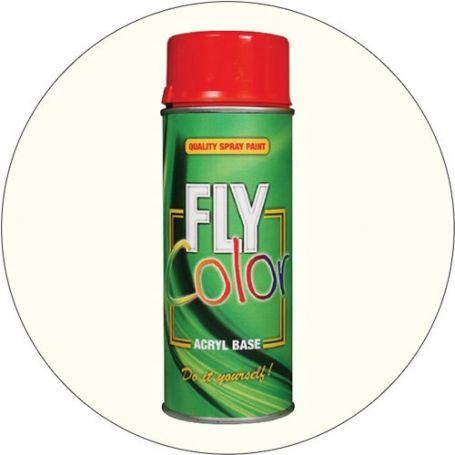 Pintura Fly en spray ral 9010 blanco satinado 200ml Motip