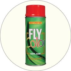 Pintura Fly en spray ral 9010 blanco satinado 200ml Motip