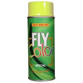 Pintura fly fluorescente en spray amarillo 200ml Motip