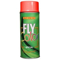 Pintura fly fluorescente en spray rojo 200ml Motip