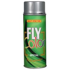Pintura fly metalizado en spray plata 200ml Motip