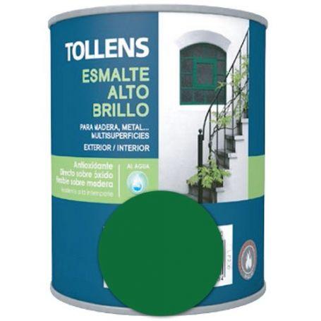 Esmalte al agua verde mayo alto brillo 4 lt. Tollens