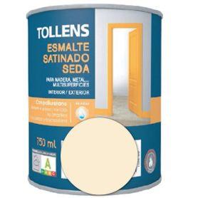 Esmalte al agua arena satinado seda 0,75 lt. Tollens