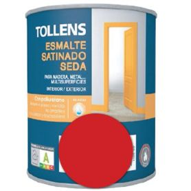 Esmalte al agua amapola satinado seda 0,25 lt. Tollens
