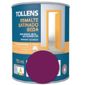 Esmalte al agua púrpura satinado seda 0,75 lt. Tollens