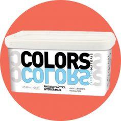 Pintura plástica coral 2.5 lt. interior mate Materis