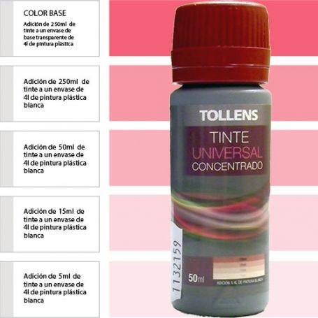 Tinte para pinturas universal bermellón 50 ml. Materis