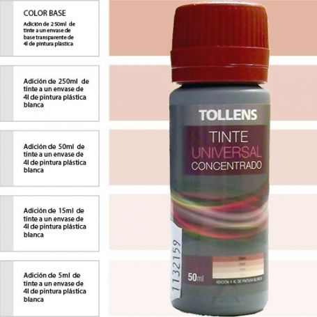Tinte para pinturas universal marrón 50 ml. Materis