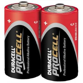 Pila alcalina Duracell LR14 Red Mediana (pack 2 unidades) Procell