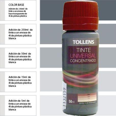 Tinte para pinturas universal negro 50 ml. Materis
