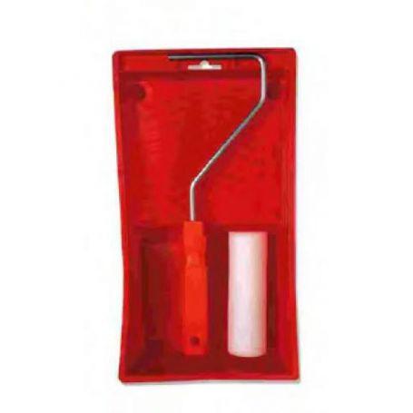 Conjunto cubeta rodillo 11cm Cano